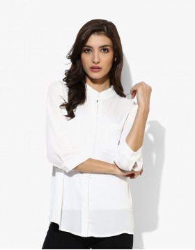 Women White t-shirt