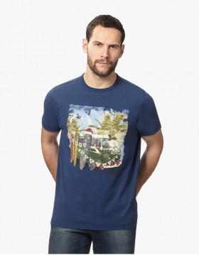 Blue Men T-shirt